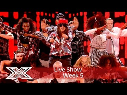 Honey G is gonna make you Jump with Kriss Kross cover | Live Shows Week 5 | The X Factor UK 2016 - YouTube