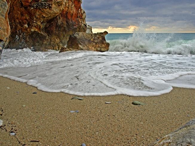 Winter by the sea #Pilio #Greece