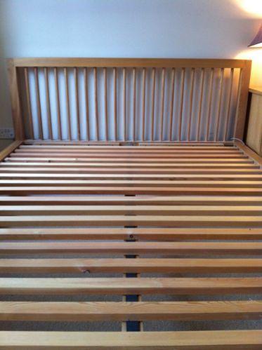 Habitat Oak King Size Bed | eBay