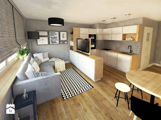 Jak oddzielić kuchnię od salonu? Niebanalne pomysły dla otwartej kuchni - Homebook.pl