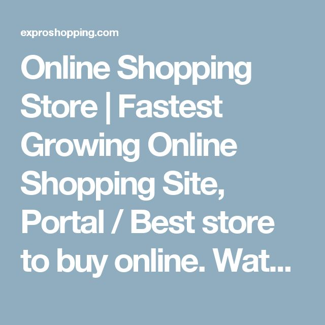 Online Shopping Store | Fastest Growing Online Shopping Site, Portal / Best store to buy online. Water Purifiers Store | Here at expro shopping you can find all kind of Water Purifiers and ro system in india, all leading brands