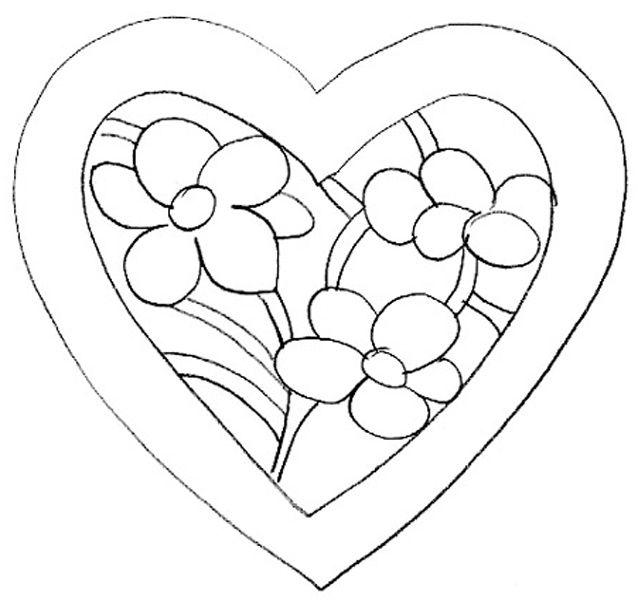 Coloriage à Imprimer Coeur 8 Top Coloriage à Imprimer