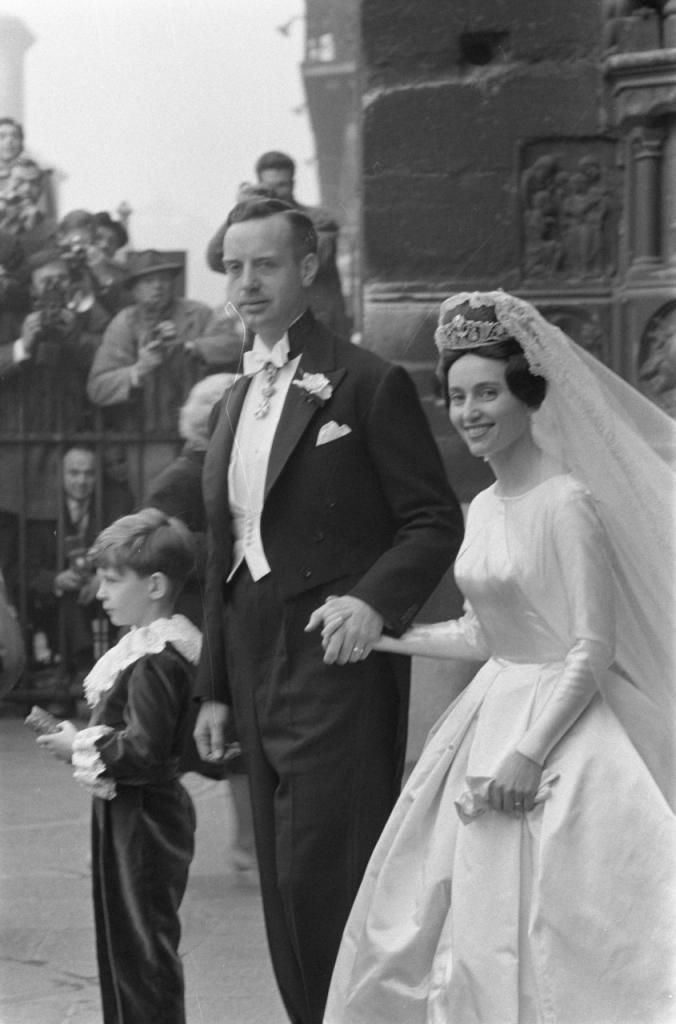 Prince Edouard Lobkowicz and Princess Françoise of Bourbon-Parma, 1960 - The Royal Forums