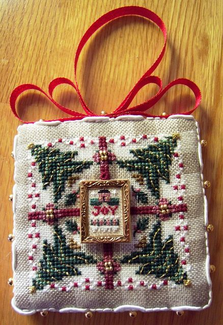 Lots of cross stitch finishing ideas