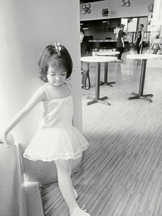 First day at Ballet class...
