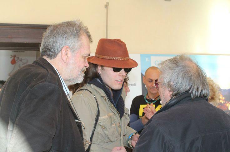Gianni testa con Gregorio Rossi e Daniele Bongiovanni
