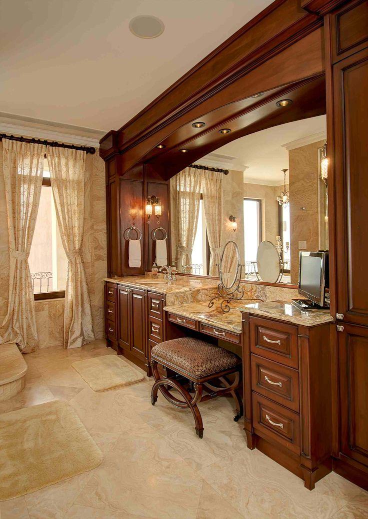Hers vanity / http://costaricamilliondollarhomes.com/Casa-World-Class-Luxury-Estate-Home/index.html
