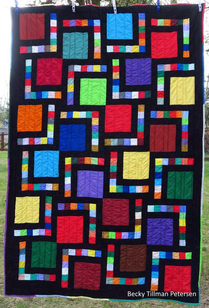 1000 Ideas About Big Block Quilts On Pinterest Easy
