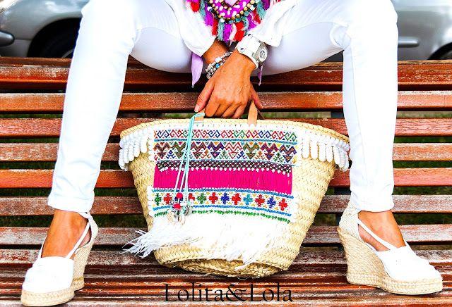 #capazo #lolitaylola #yolandafaguilera #strawbag #boho #bohochiz #limitededition #edicionlimitada