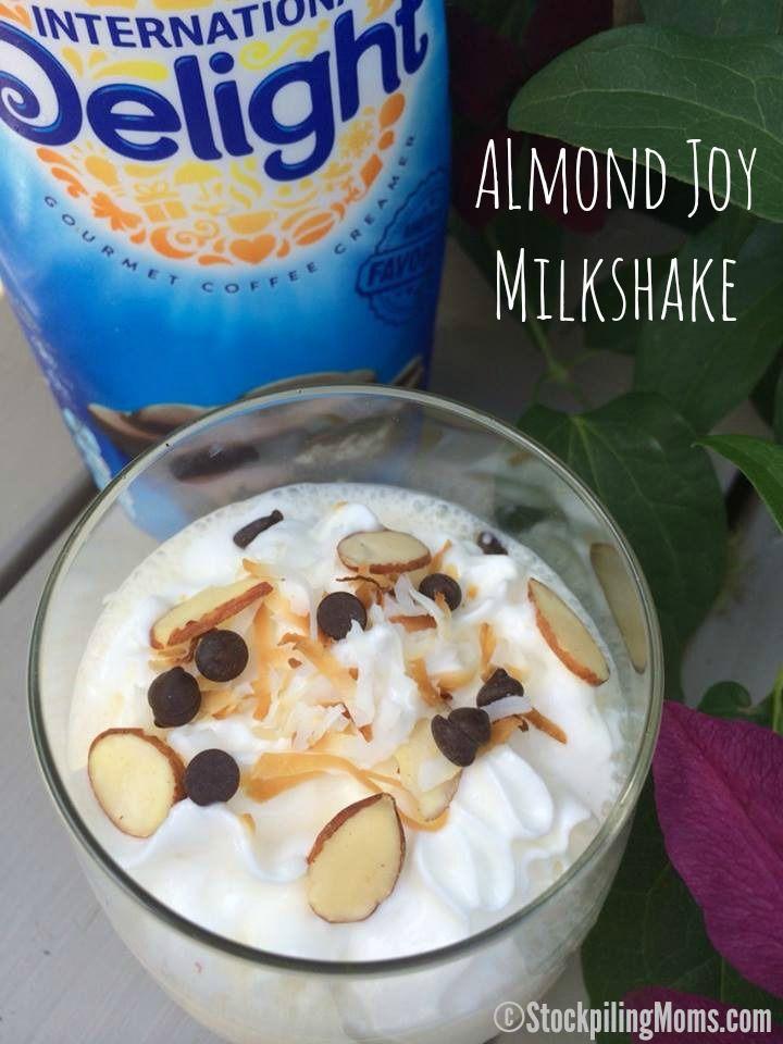Almond Joy Milkshake made with International Delight #IDelight #Summer ...