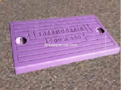Steelsparrow is an online source for GRP / FRP Rectangular Thermodrain Manhole Cover With Frame tested for passing Truck / Trailor load (20 MT). We ship 600 mmx450 mm Products to all over India and Abroad to our customers @ www.steelsparrow.com