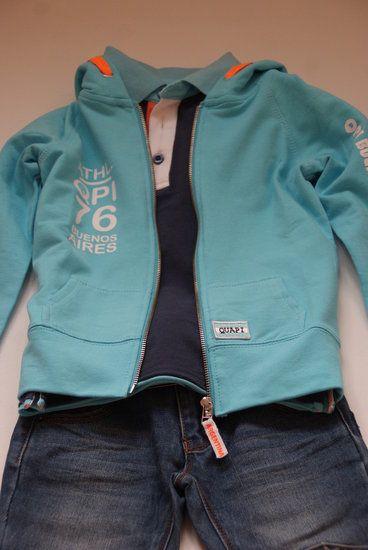 Quapi Kidswear Maurice Aqua -lot en Lynn Lifestyle  www.lotenlynn.nl