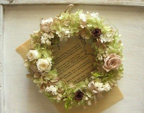 英国*田舎風wreath