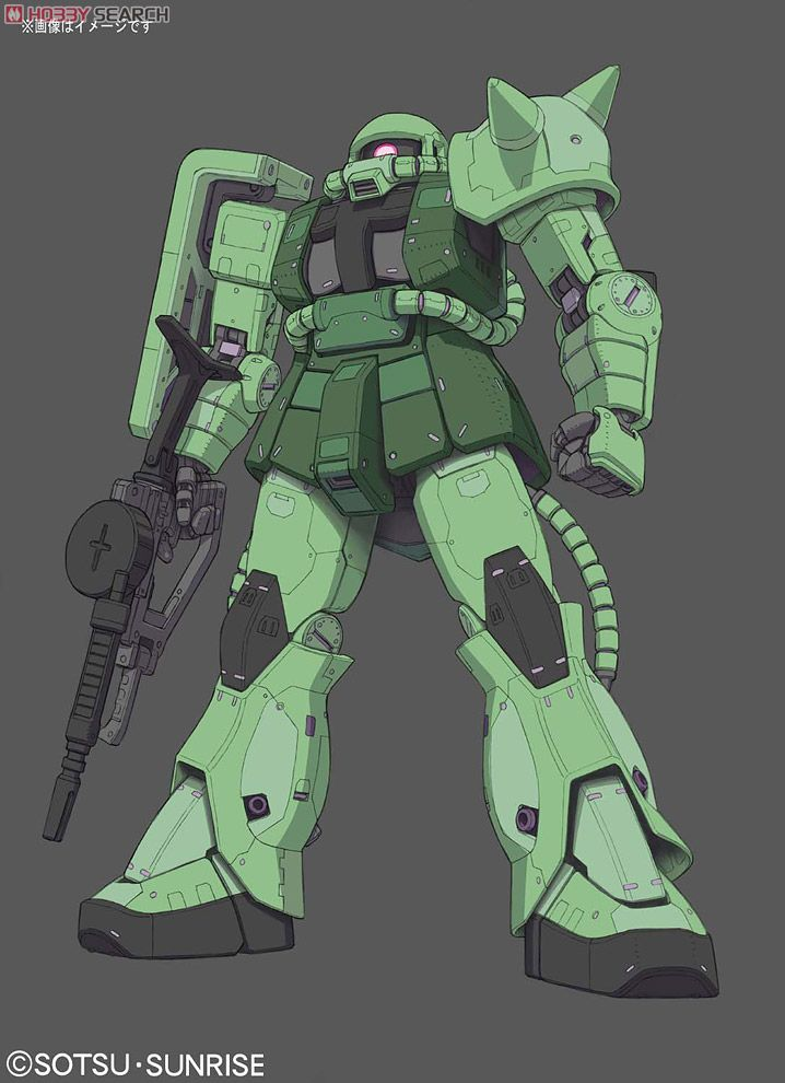MS-06F Zaku II (RG) (Gundam Model Kits) Other picture1