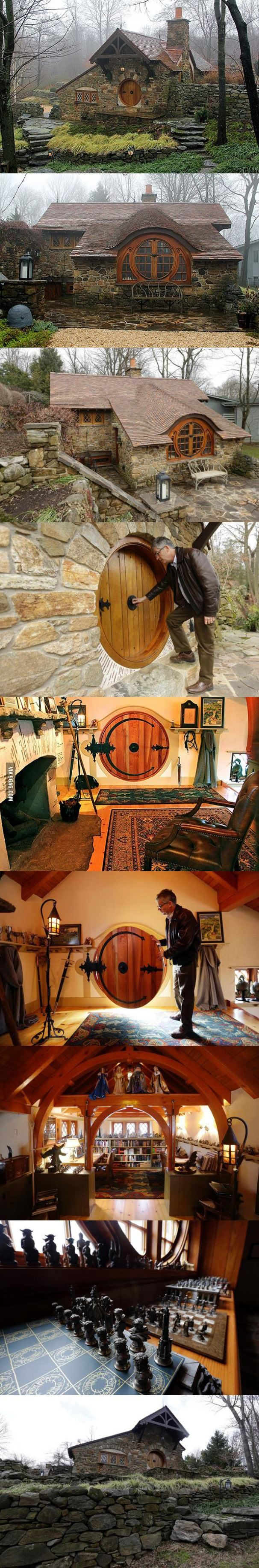 Beautiful real-life Hobbit home