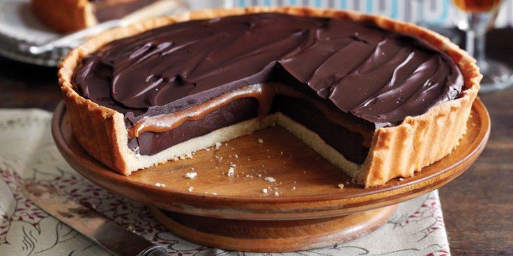 Chocoladetaart met zoute karamel - Elleeten.nl !
