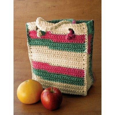 Bag to Crochet | YarnInspirations | Free Pattern