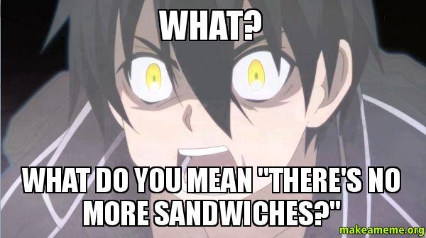 Sword Art Online Memes | newest meme types blog contact us