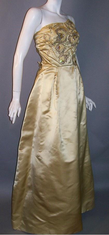 279 Best Vintage Evening Gowns Images On Pinterest