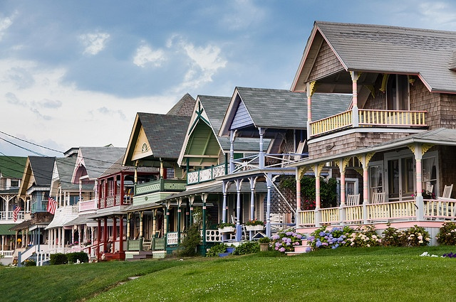 Martha's Vineyard-the gingerbread houses