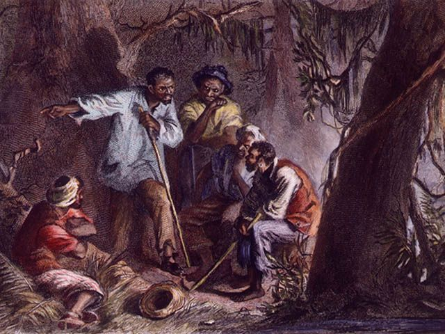 Nat Turner had a dark light in his eye.  	He told them their mission. He said he knew what an awful thing it was, but they had to do it. To everything there was a season, even a season to kill... ('Up Jumps the Devil,' novel, Michael Poore, Ecco / HarperCollins,  www.mikepoorehome.net )