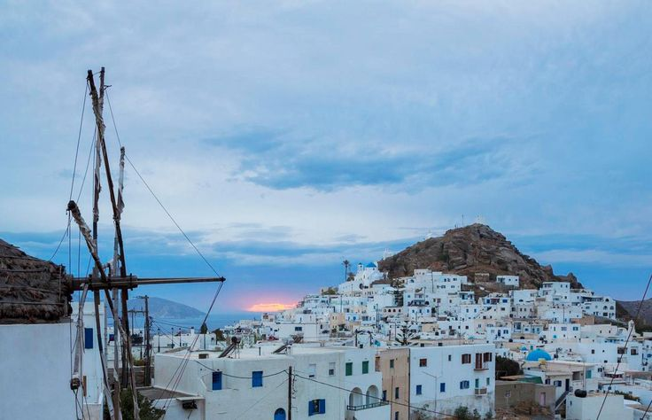 """Tiny #Ios was named for its abundance of flowers: """"ia"""" is ancient Greek for flower. This Cycladic gem has a romantic aura: bright white, like its houses, cooler than its breezes, warmer than the #Aegean #sun! #louiscruises #greekislands #summer2014 #holidays"""
