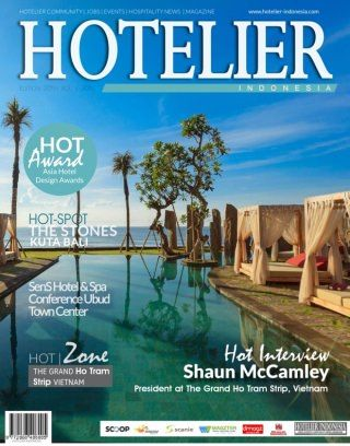 Hotelier Indonesia Edition 20 digital magazine - Read the digital edition by Magzter on your iPad, iPhone, Android, Tablet Devices, Windows 8, PC, Mac and the Web.