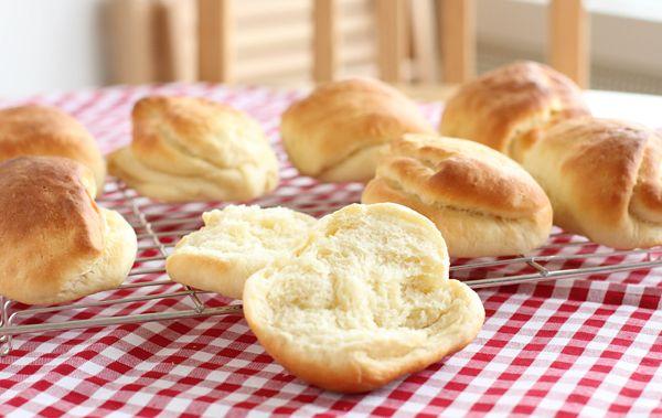 Milk sandwich rolls – Tangzhong method