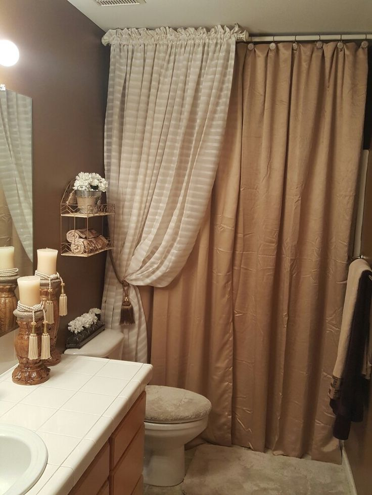 1000 ideas about short curtain rods on pinterest tan for Do shower curtains come in different lengths