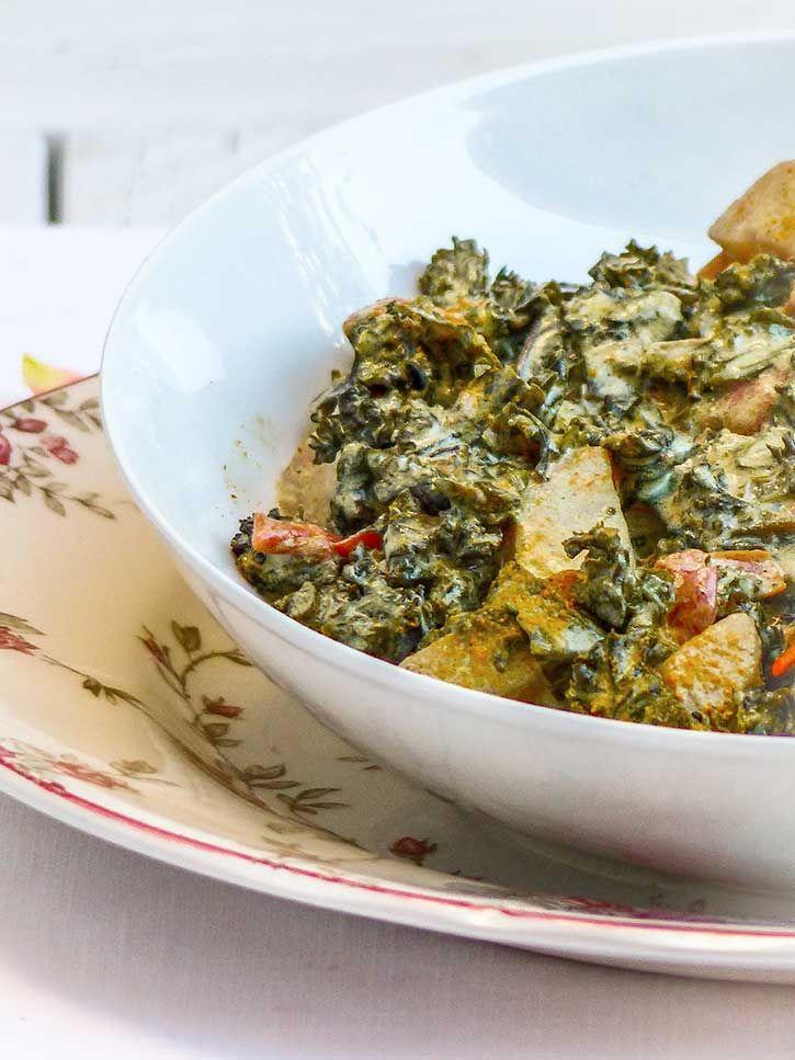 Curry de chou kalé