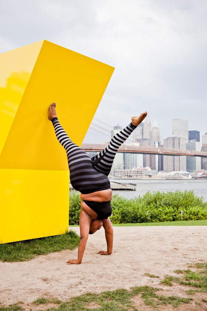 "Jessamyn Stanley Shows Us, Yoga is for Every Body http://thecurvyfashionista.com/2017/04/jessamyn-stanley-book-yoga-is-for-every-body/  Plus size yogi, Jessamyn Stanley has recently launched her book, ""Every Body Yoga"" and we interview her about her process, plus size yoga, and why she started this journey!"