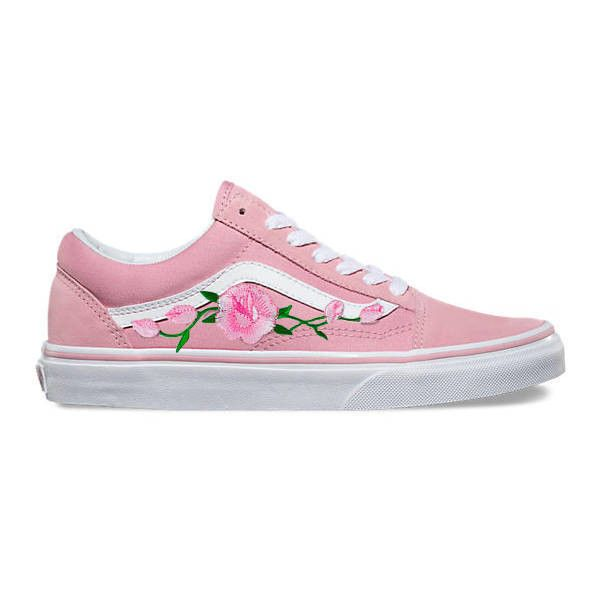 Skool Vans Pink Camo Old