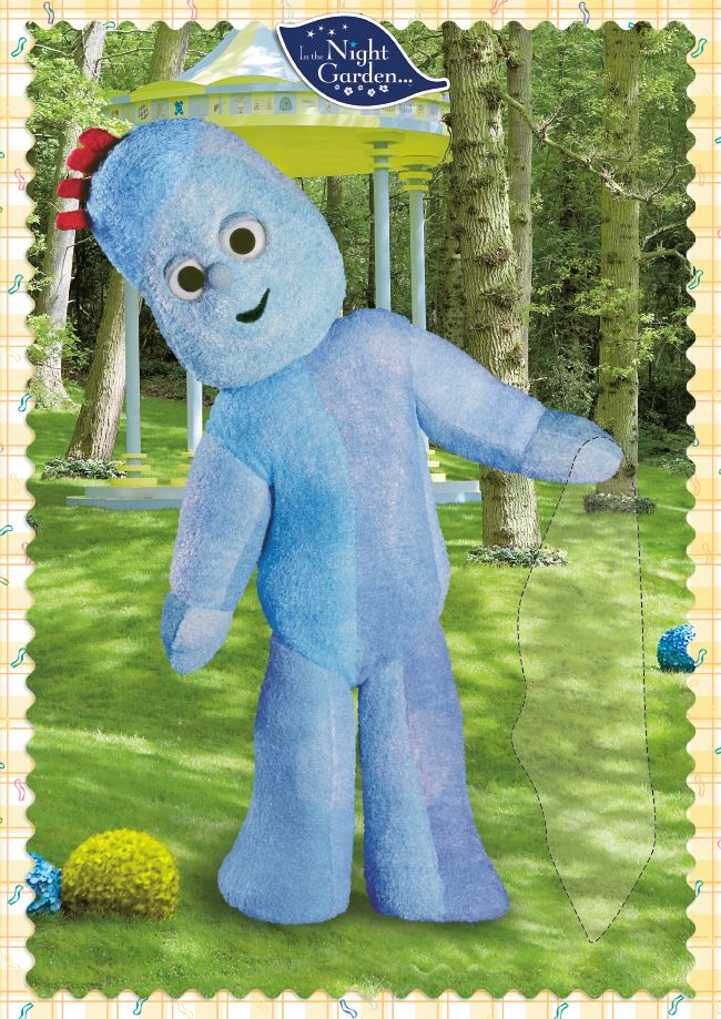 Pin the blanket on Igglepiggle! Laugh and giggle just like Igglepiggle! Download some exciting In the Night Garden party games. http://www.inthenightgarden.co.uk/party-time