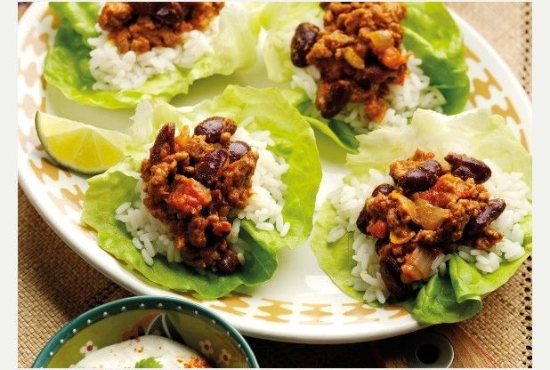 Feed the family for a fiver with chilli lettuce leaves