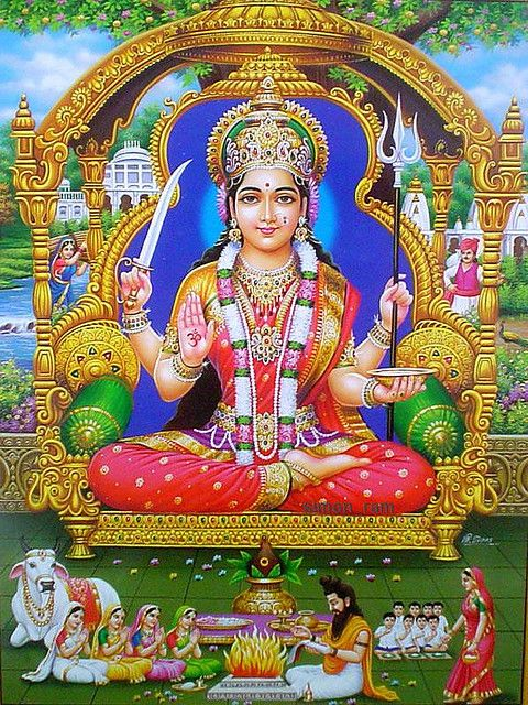 Hindupath: Lakshmi Stuti By Lord Indra : The source of all wealth