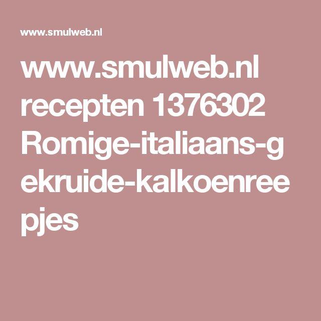 www.smulweb.nl recepten 1376302 Romige-italiaans-gekruide-kalkoenreepjes