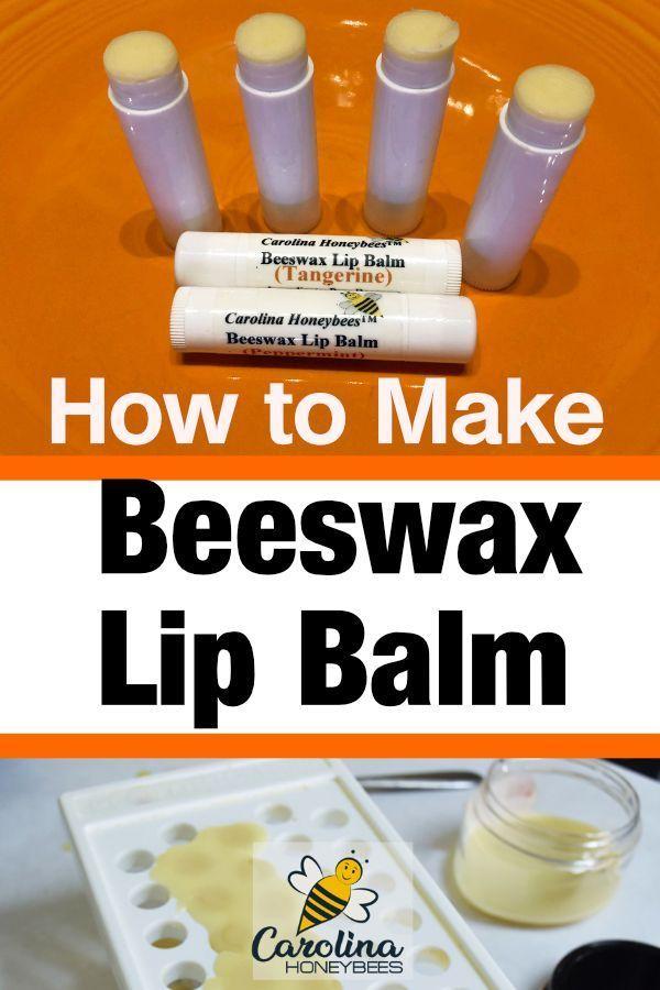 How To Make Beeswax Lip Balm Organic Diy Recipes