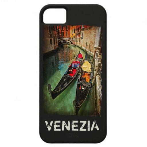 Venice, Italy. venetian gondolas case iPhone 5 case