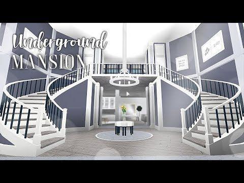 Roblox Bloxburg Underground Mansion Youtube Family House