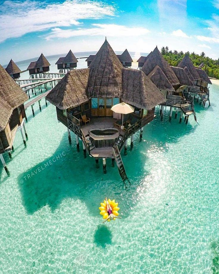 Relaxation in Maldives Courtesy of Travel Me Chic