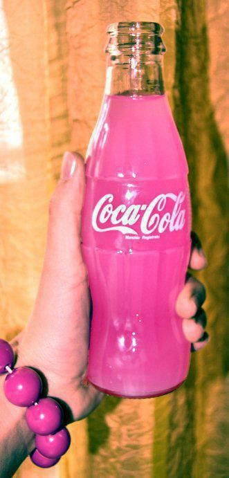 I get a sugar high just looking at this beautiful creation  #pinkcoke #pink #allpinkerythang