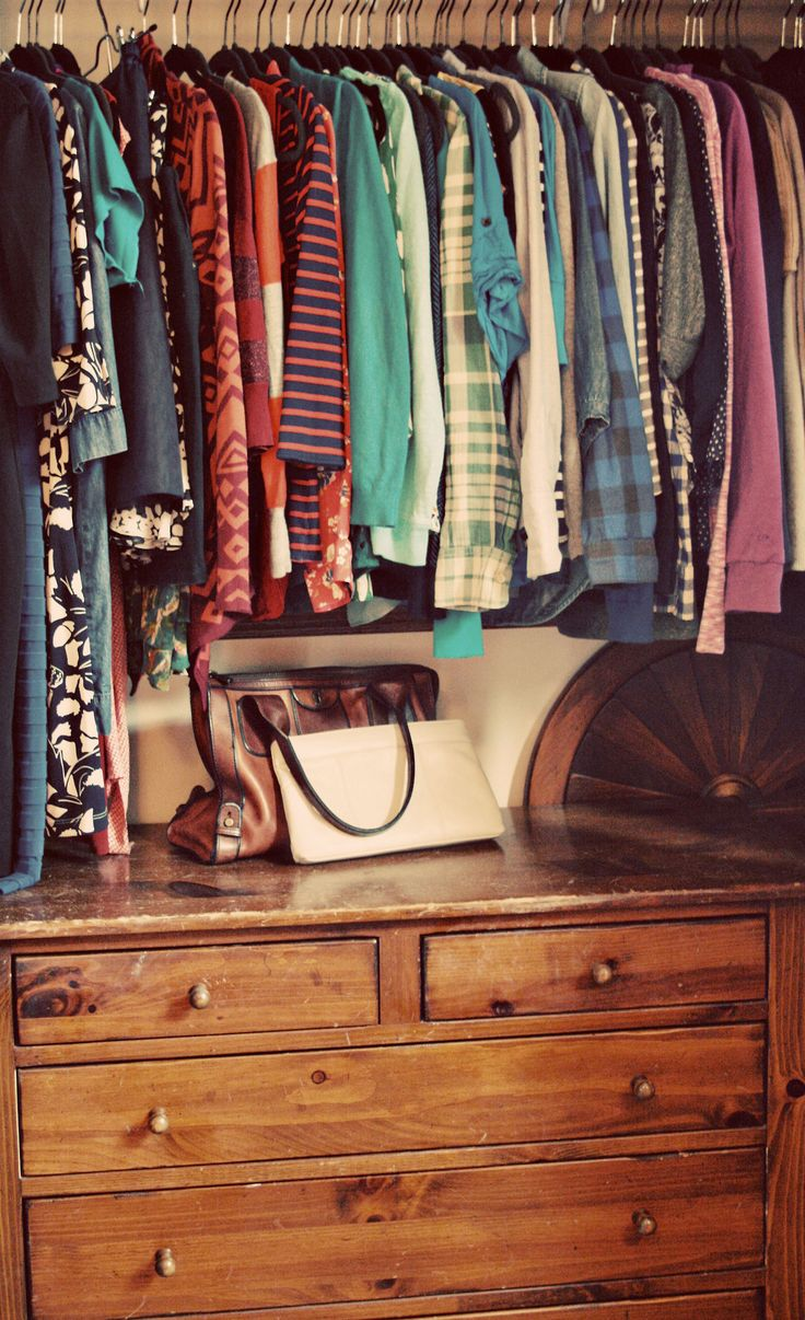 Great Idea To Add A Dresser To Your Closet!