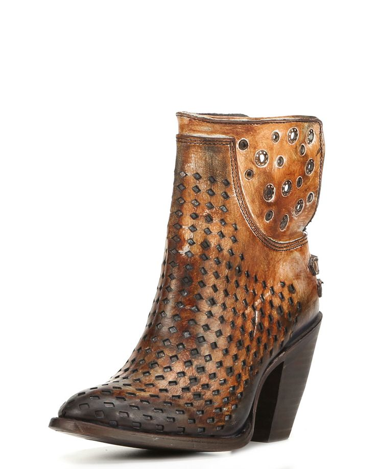 Corral | Womens Black / Honey Cowhide Round Toe Boot - C3111 | Country Outfitter