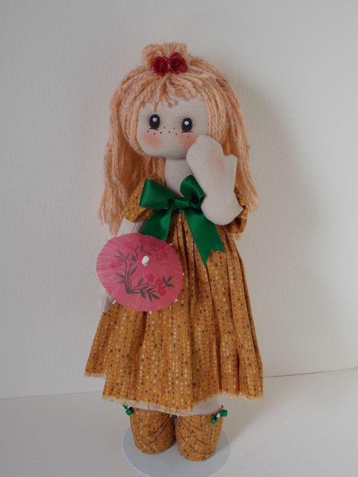 Loretta..... bambola in stoffa