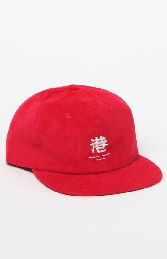 Minato Corduroy Snapback Hat