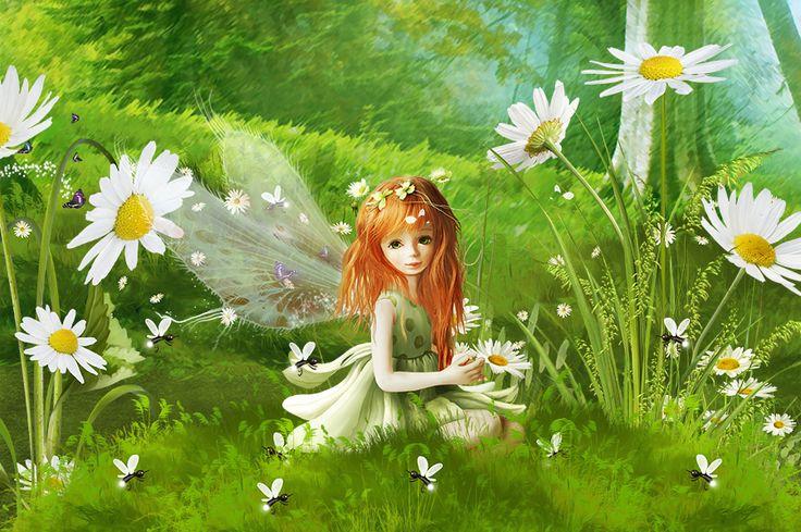 Ромашковая фея