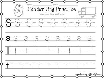 Helpful Handwriting Practice
