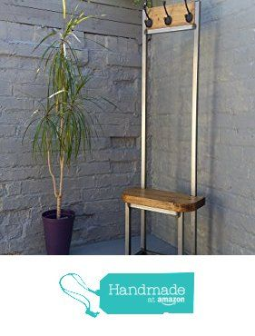 coat stand narrow hallway bijou coat rack with seat and shoe storage ideal for porch industrial