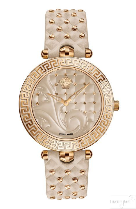 Versace Champagne watches for ladies