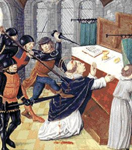 The Murder In The Cathedral - St Thomas a Becket: